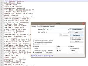 Notepad++ beállítások